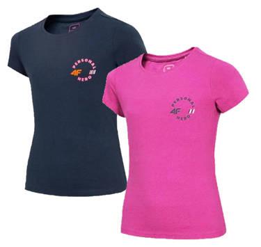 Zestaw koszulek dziewczęcych 4F JTSD008 2pak