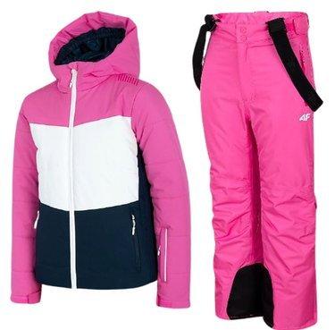 Zestaw narciarski zimowy 4F kurtka + spodnie