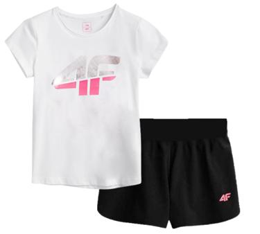 Zestaw sportowy na WF koszulka spodenki 4F
