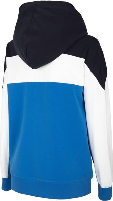 Bluza damska 4F BLD018 niebieska na zamek
