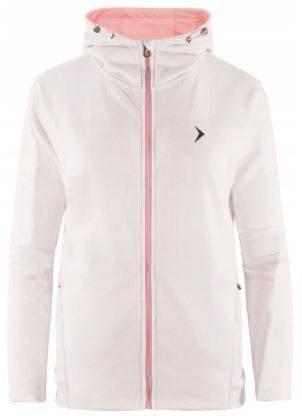 Bluza damska OUTHORN BLD605 na zamek biała