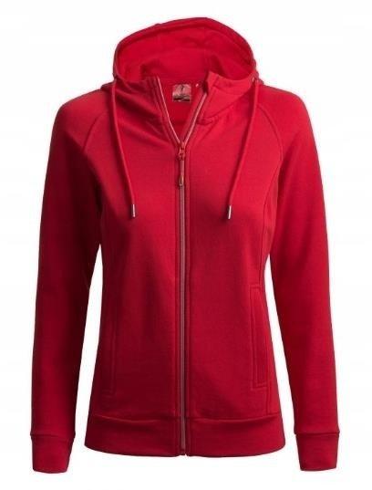 Bluza damska z kapturem OUTHORN BLD601 czerwona XS
