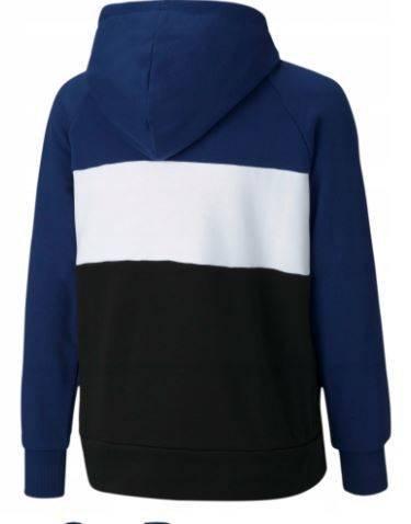 Bluza dziecięca PUMA 58589212 z kapturem granat