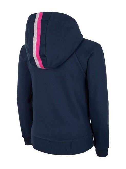 Bluza dziewczęca 4F JBLD001A GRANAT