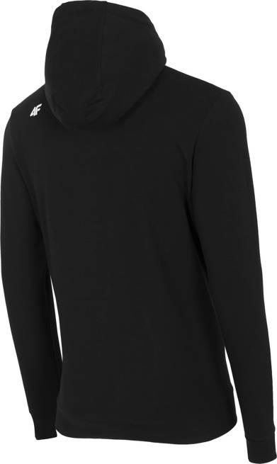 Bluza męska 4F BLM017 z kapturem czarna