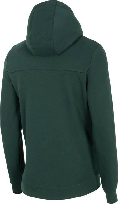 Bluza męska 4F ciemna zieleń BLM024