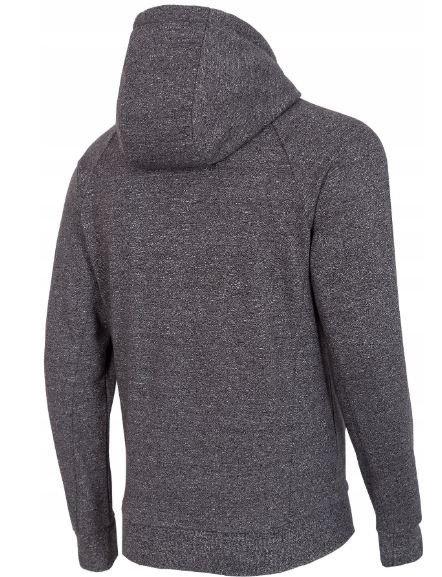 Bluza męska rozpinana 4F BLM004 szara