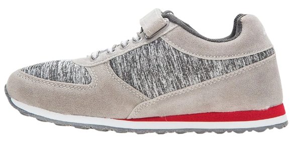 Buty chłopięce adidasy 4F JOBML100 szare 24