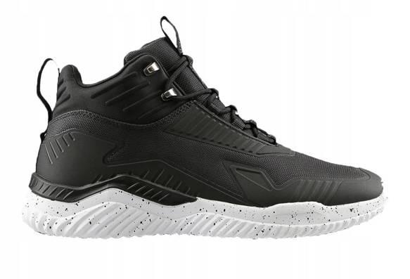 Buty miejskie męskie OBMH203 czarne