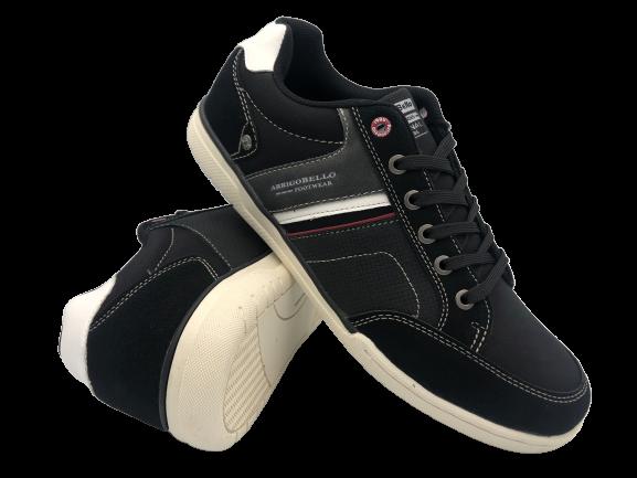 Buty sportowe męskie adidasy A9282-1 czarne