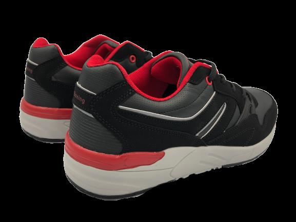 Buty sportowe męskie adidasy A9287-21 czarne