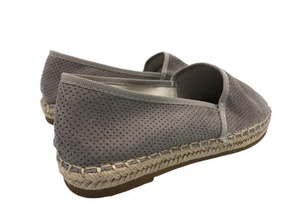 Espadryle damskie obuwie szare N-2978