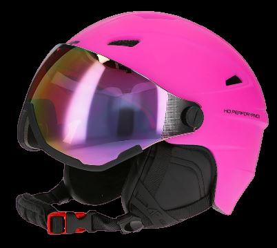 Kask narciarski damski 4F KSD001 róż
