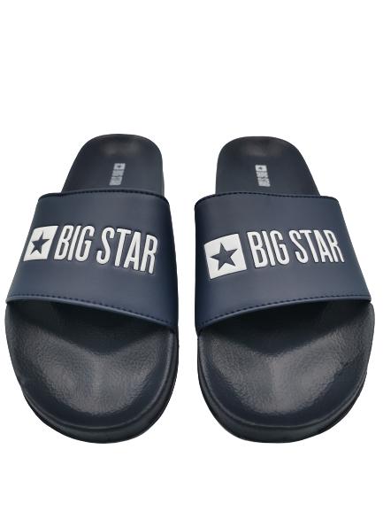 Klapki męskie BIG STAR GG174934 granatowe