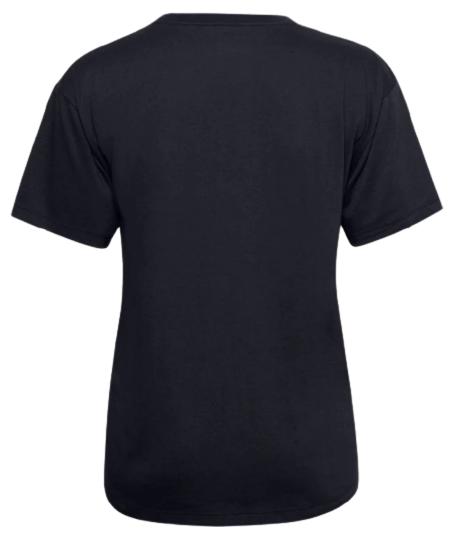 Koszulka damska UNDER ARMOUR 1358657 czarna