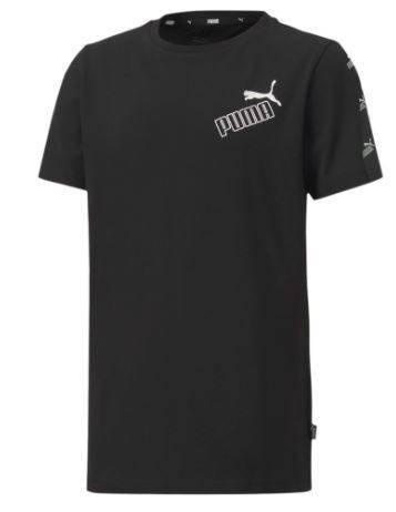 Koszulka dziecięca PUMA 583241 01 czarna