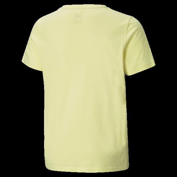 Koszulka dziecięca PUMA 58696040 bawełna żółta