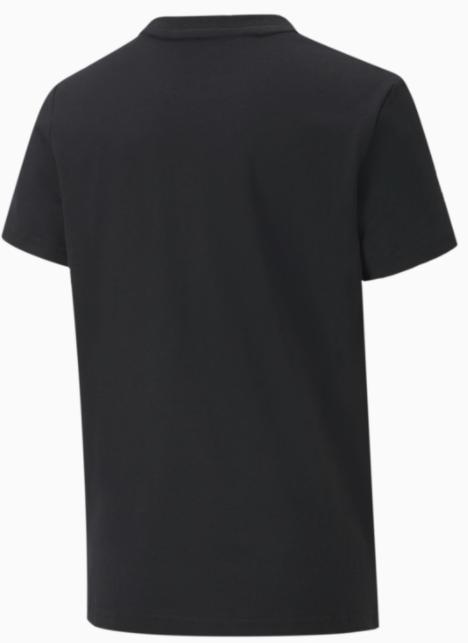 Koszulka dziecięca z bawełny PUMA czarna