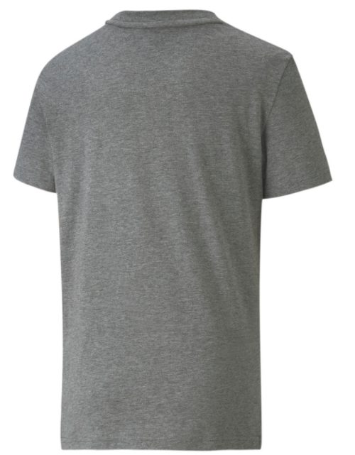 Koszulka dziecięca z bawełny PUMA szara