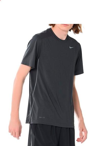 Koszulka sportowa treningowa Nike szara XXL