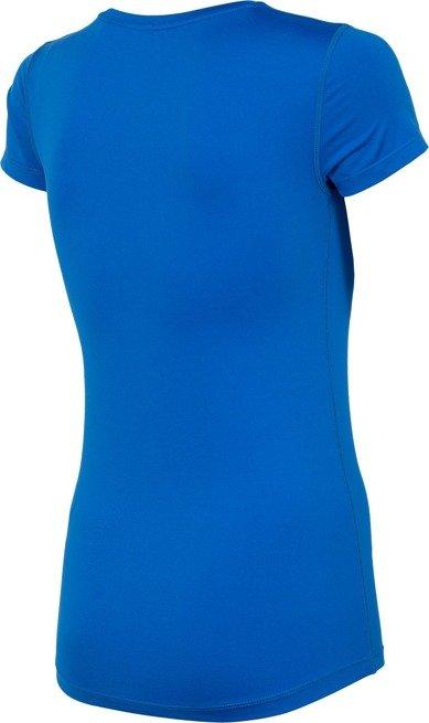 Koszulka treningowa damska 4F TSDF002 KOBALT