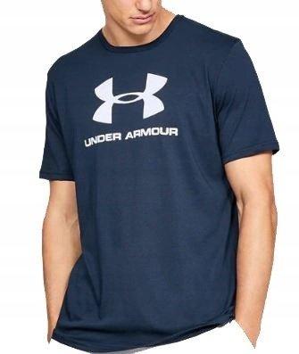 Koszulka z krótkim rękawem UNDER ARMOUR GRANATOWA