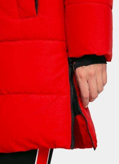 Kurtka damska 4F KUDP008 płaszcz czerwony