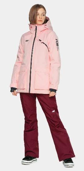 Kurtka damska narciarska 4F KUDS002 zimowa