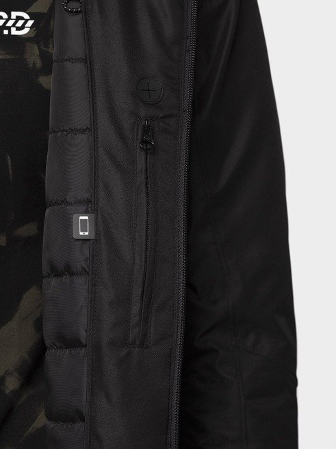 Kurtka męska zimowa ciepła 4F KUM006 czarna