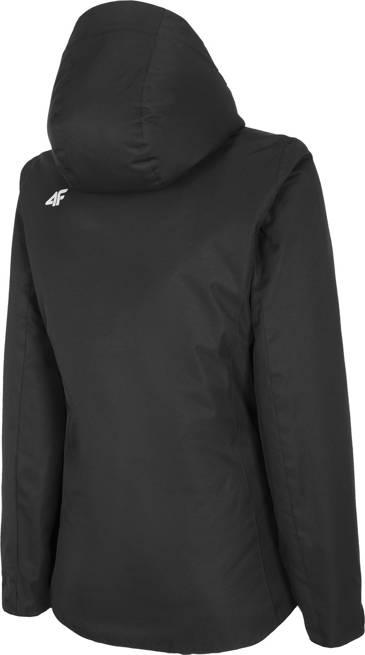 Kurtka narciarska damska 4F KUDN001 czarna