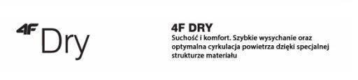 Legginsy fitness damskie 4F SPDF001 granatowe