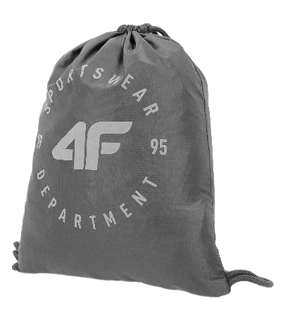 Plecak 4F worek szary PCU015  one size
