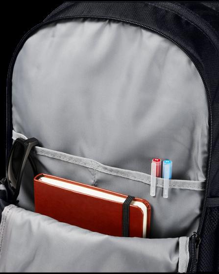 Plecak  UNDER ARMOUR  czarny+czerwony
