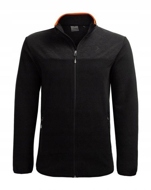 Polar męski OUTHORN PLM602 ciepła bluza czarny