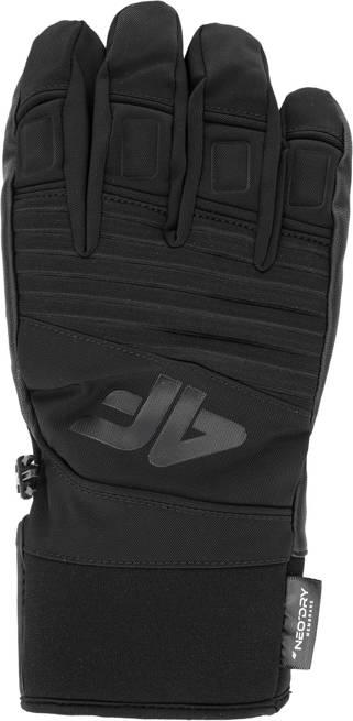 Rękawice narciarskie 4F REM002 zimowe czarne