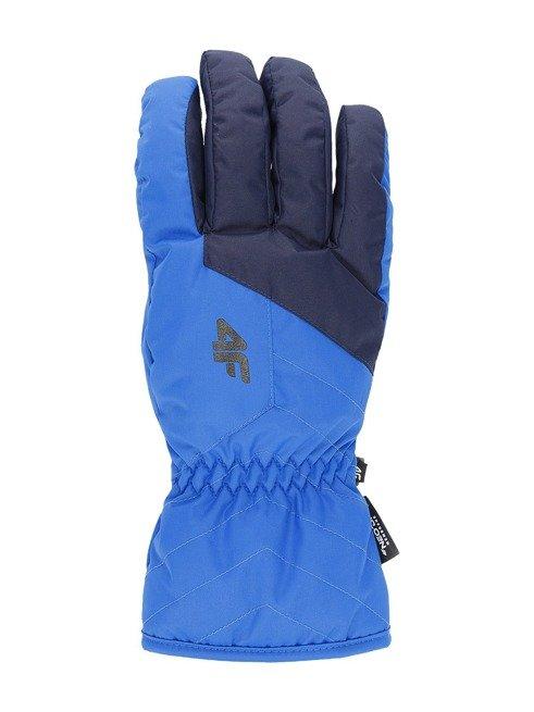 Rękawice narciarskie REM001 męskie 4F niebieskie