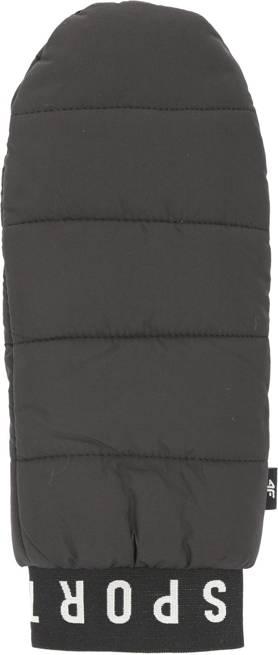 Rękawice uniwersalne 4F REU066 czarne zimowe