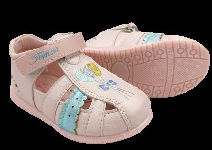 Sandały dziewczęce różowe C-T73-57