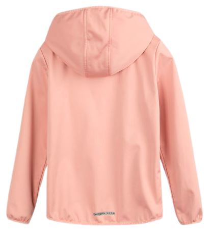 Softshell dziewczęcy 4F JSFD001 kurtka różowa
