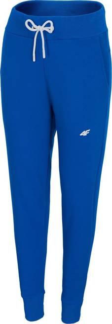 Spodnie damskie 4F SPDD001 dresowe niebieskie