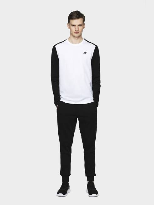 Spodnie męskie 4F dresowe SPMD012 czarne