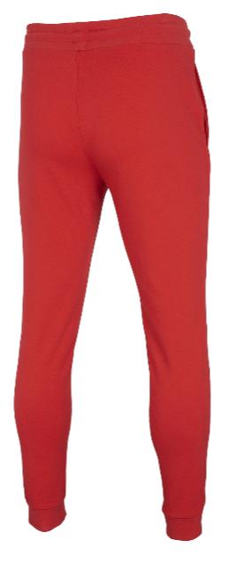 Spodnie męskie sportowe 4F SPMD001 czerwone