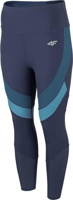 Spodnie sportowe 4F SPDF015 legginsy granat 7/8