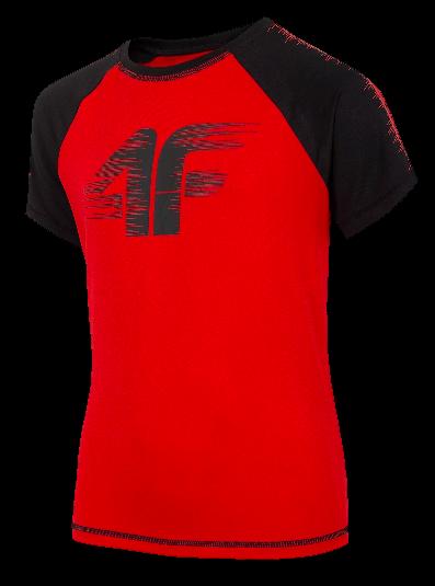 T-shirt 4F koszulka sportowa JTSM011A czerwona