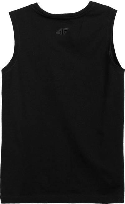 T-shirt chłopięcy 4F JTSM011B koszulka czarna