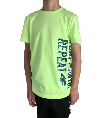 T-shirt chłopięcy 4F JTSM016 zielony