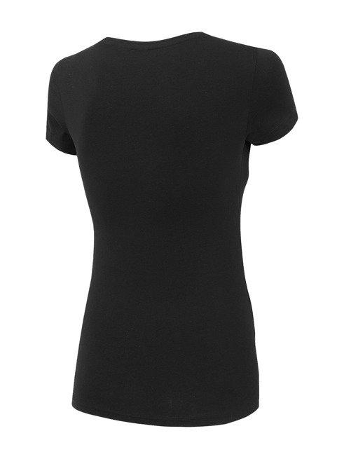 T-shirt damski 4F TSD001 czarny