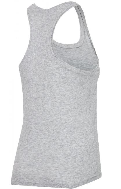 T-shirt damski 4F TSD005 bokserka szara L