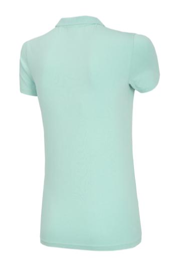 T-shirt damski 4F TSD008 koszulka polo miętowa