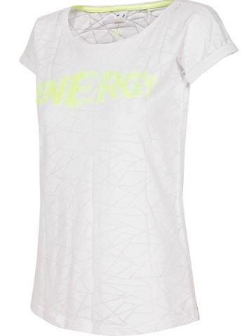 T-shirt damski 4F koszulka biała TSD019
